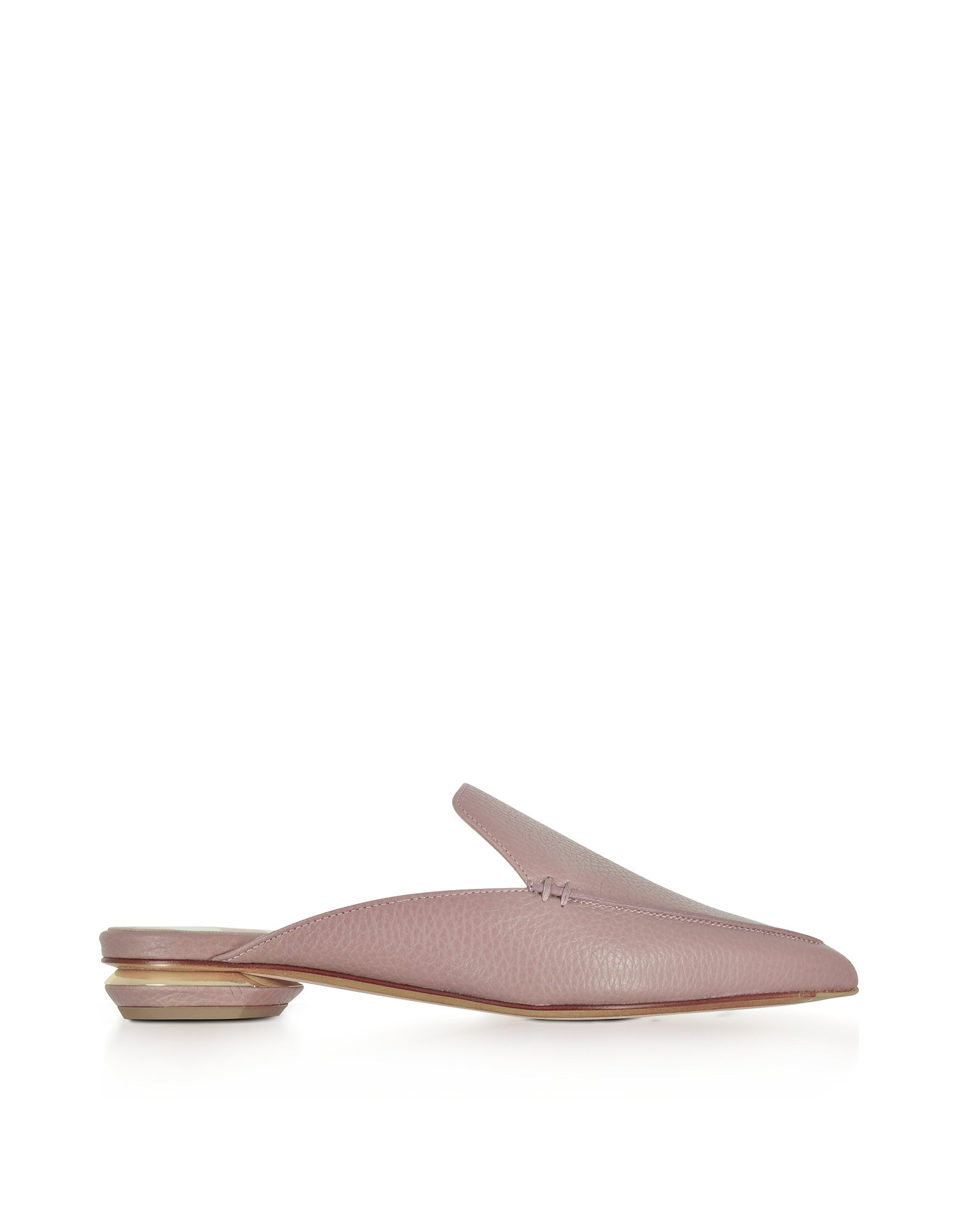 Nicholas Kirkwood Shoes, Beya Lilac Pink Tumbled Leather Mule