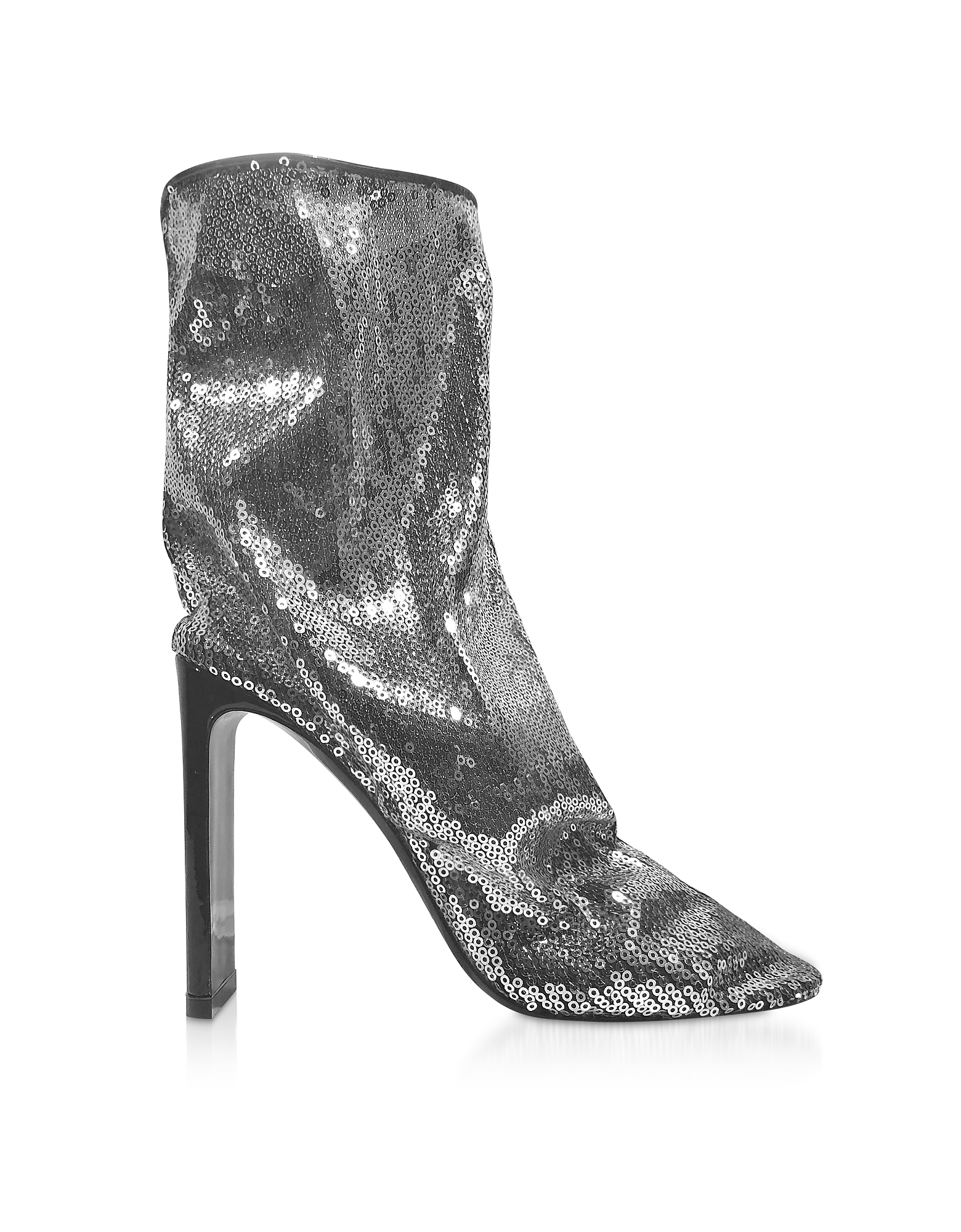 Silver 105mm D'Arcy Ankle Boots