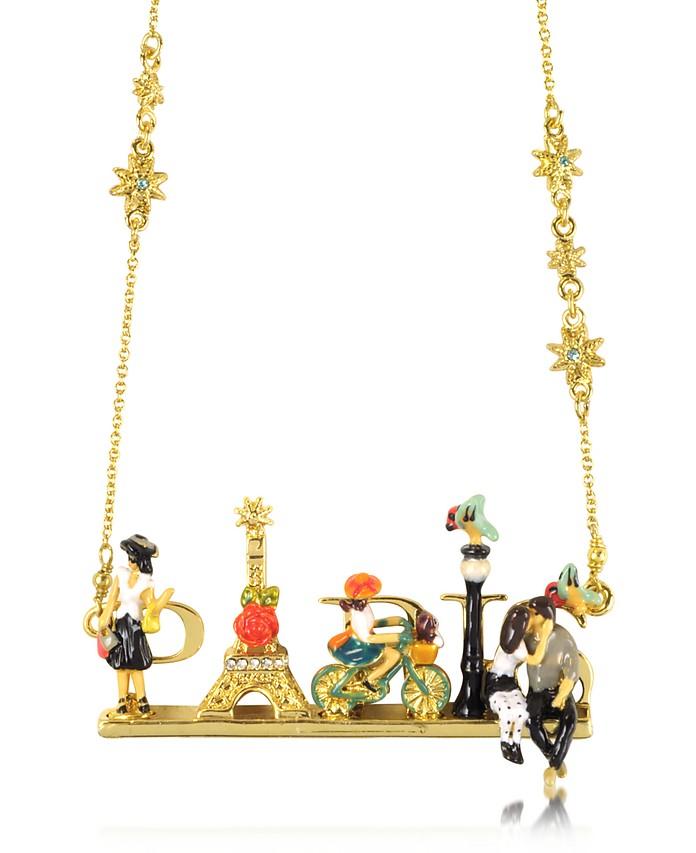 Paris mon amour Necklace  - Les Nereides