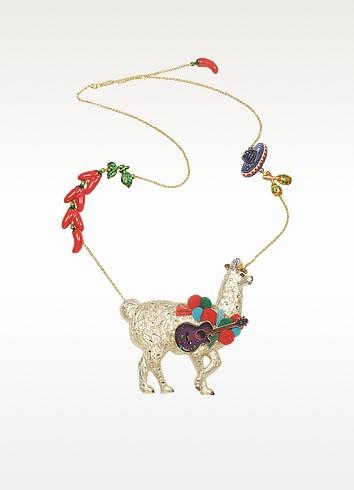 Les Mechamment Joyeux  - Pepito Long Necklace - N2