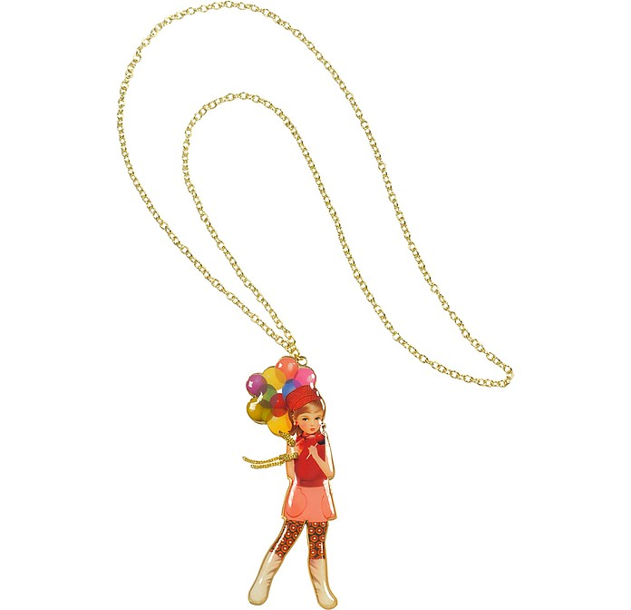Balloons Long Necklace  - N2
