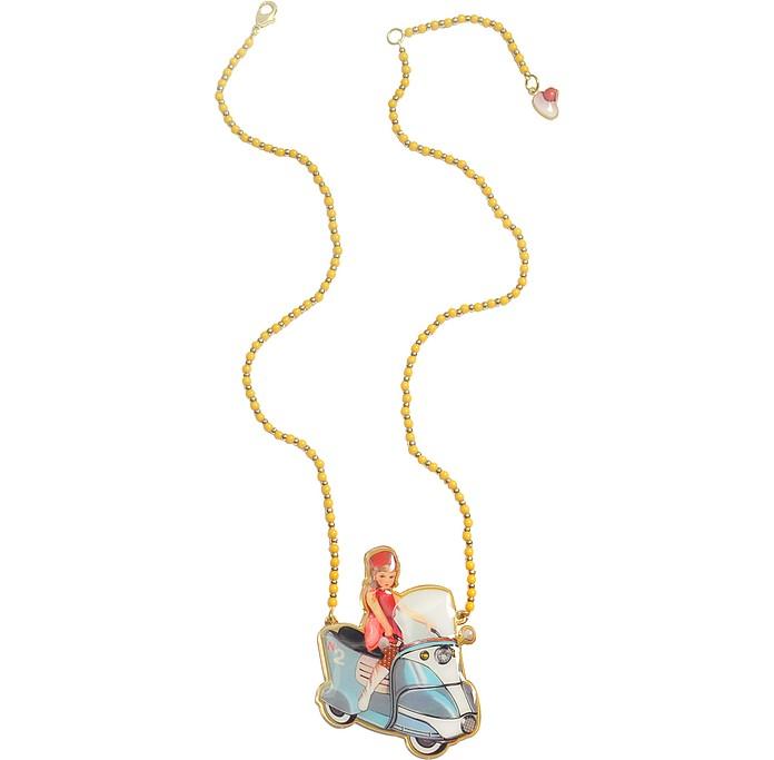 La Fete Foraine - Vintage Scooter Necklace   - N2