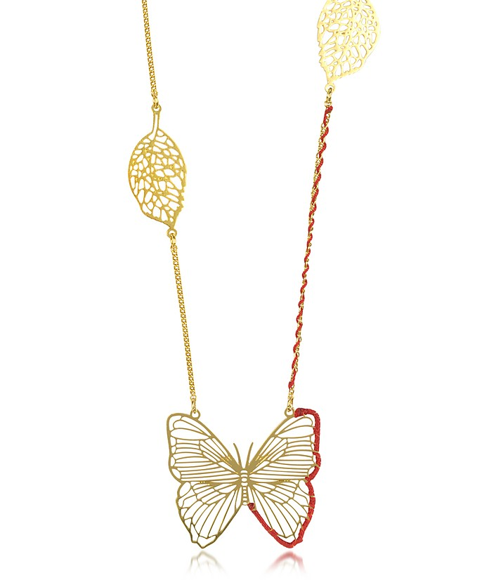 Empreintes Butterfly Long Necklace - Les Nereides