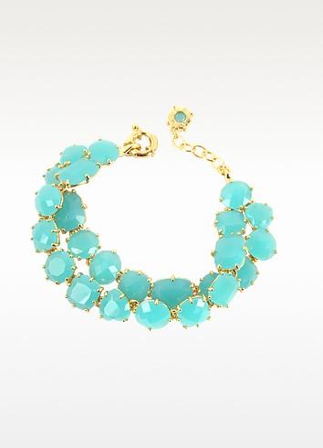 La Diamantine Turquoise Double Bracelet  - Les Nereides