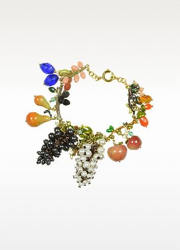 Fruits d'Automne - Multicolor Charm Bracelets - Les Nereides