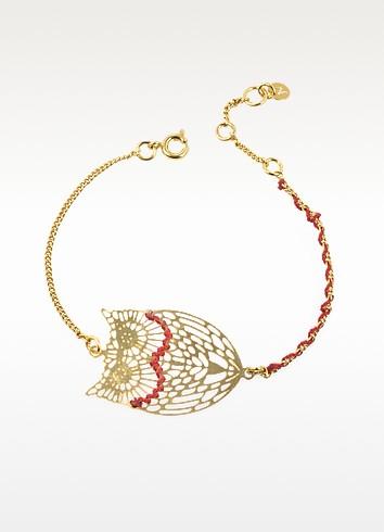 Empreintes Golden Owl Bracelet - Les Nereides