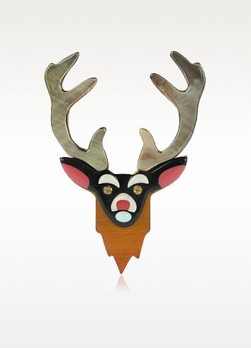 Nobles Betes - Moose Brooch - Les Nereides
