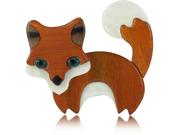 Nobles Betes - Fox Brooch - Les Nereides
