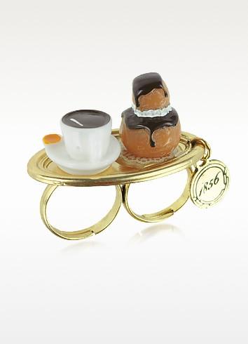 Les Gourmandes - Dessert Plate Ring   - N2