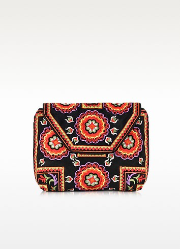 Badra Small Black Pouch  - Antik Batik