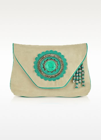 Nook Large Envelope Clutch - Antik Batik