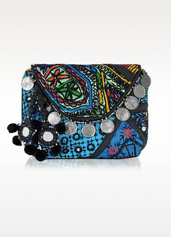 Banja Embroidered Pouch Wallet - Antik Batik