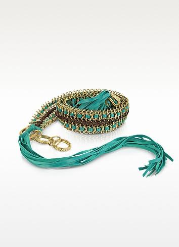 Joston Suede and Chain Belt - Antik Batik