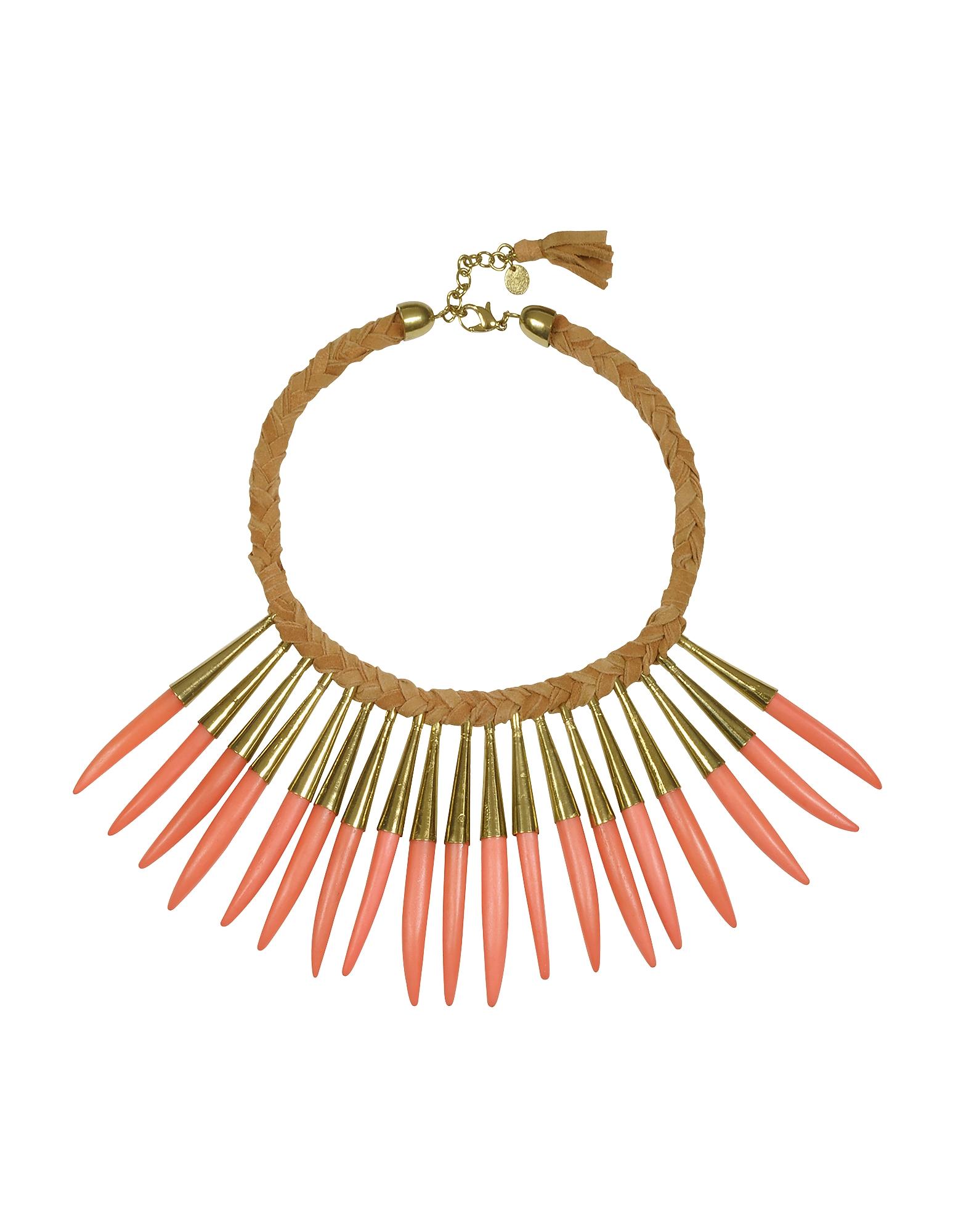 Noli - Ожерелье из Кожи и Металла