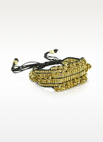 Elias Golden Beads Bracelet - Antik Batik