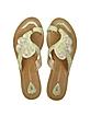Krista Embroidered Thong Sandal - Antik Batik