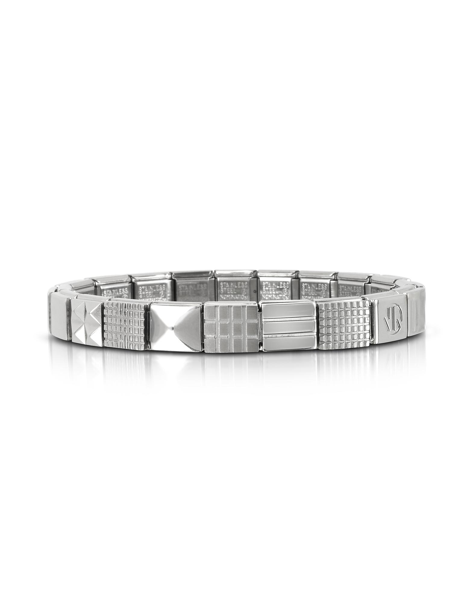 Nomination Men's Bracelets, Steel Ikons Minimal Stainless Steel Bracelet