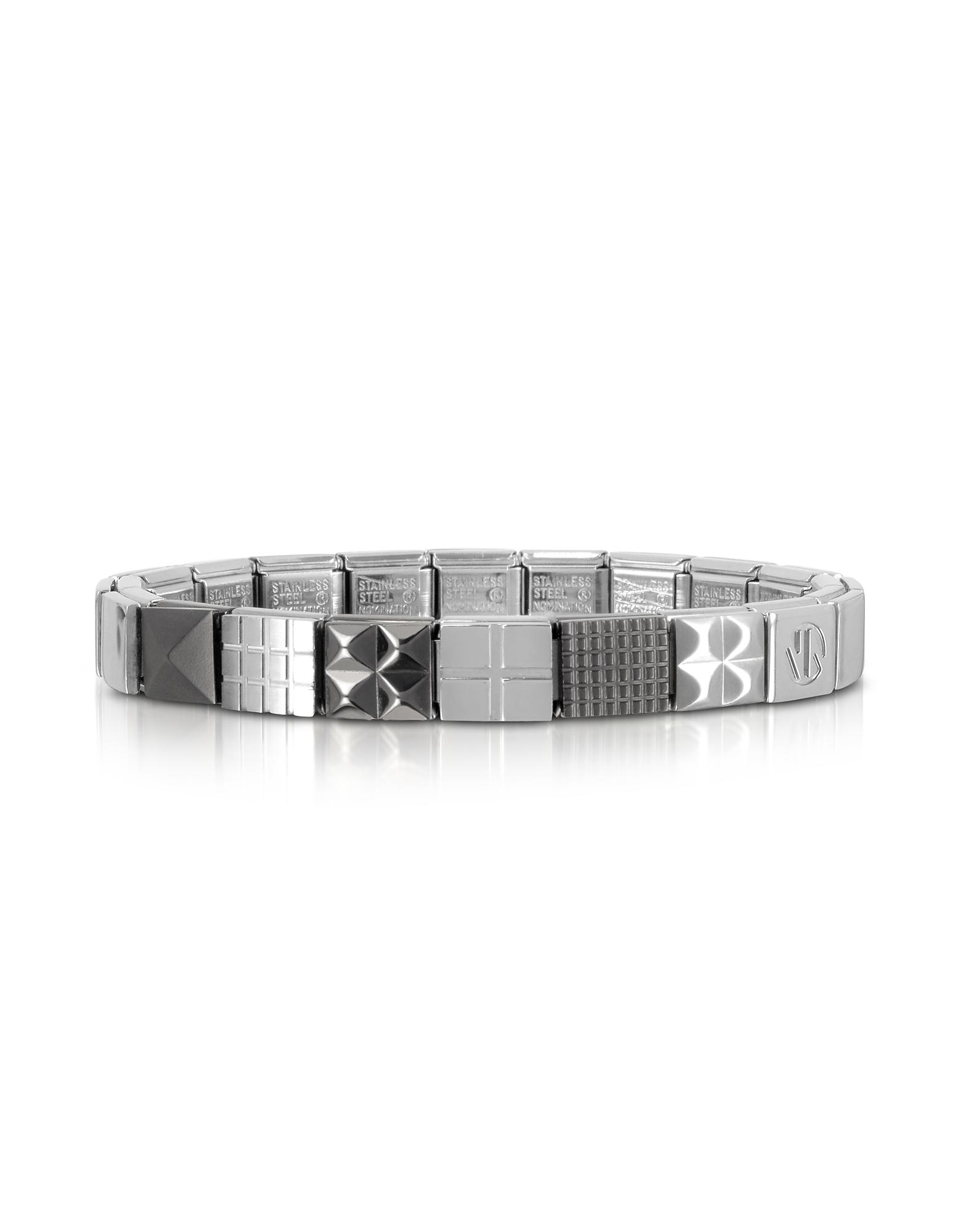 Steel Ikons - Браслет из Матовой и Полированной Нержавеющей Стали