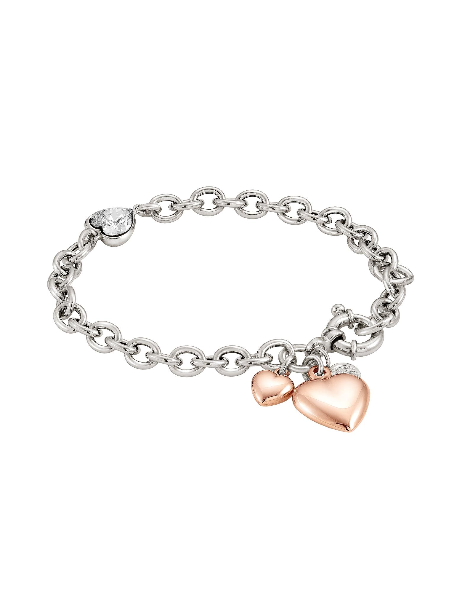 Nomination  Bracelets Rock in Love Heart Bracelet w/Cubic Zirconia