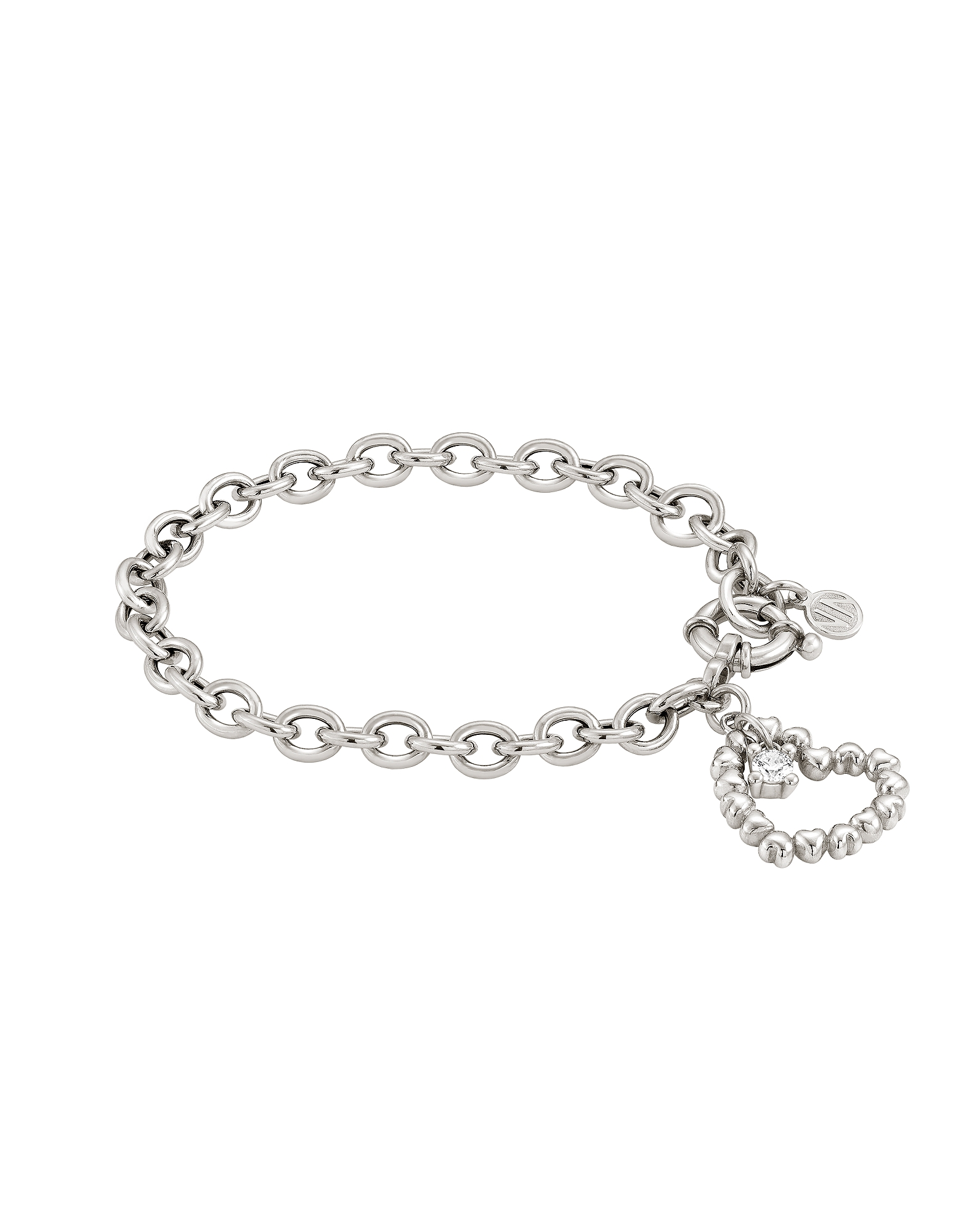 Nomination  Bracelets Rock in Love Bracelet w/Heart Pendant