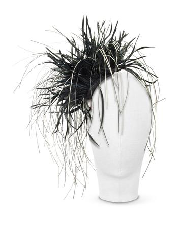 Lux-ID 211717 Alicia - Black Feather Headdress