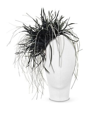 Nana' - Alicia - Black Feather Headdress