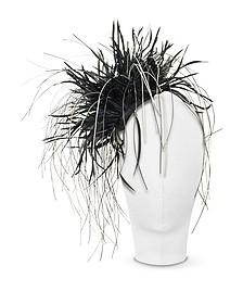 Alicia - Black Feather Headdress - Nana'