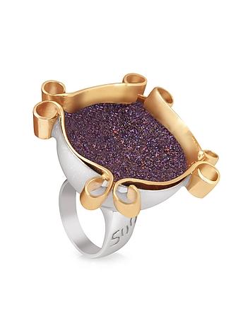 Naoto - Omaggio a Palladio Purple Ring