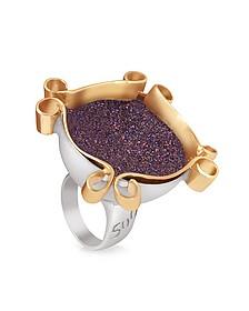Omaggio a Palladio Purple Ring - Naoto