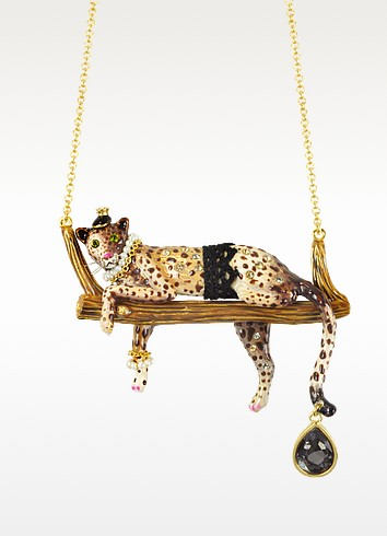 Princess Leopoldine Panther Necklace - N2