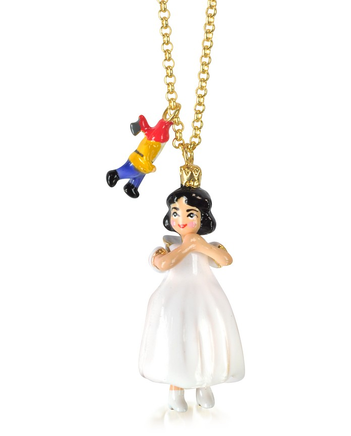 Snow White Long Necklace - N2