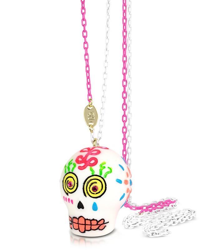 Sugar Skull Long Necklace - N2