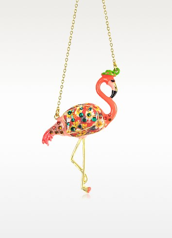 Francis the Flamingo Necklace - N2