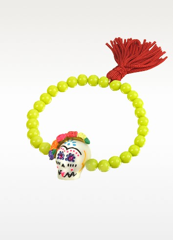Frida Kahlo Sugar Skull Bracelet - N2
