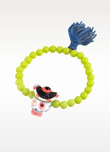 Sombrero Calavera Sugar Skull Bracelet - N2