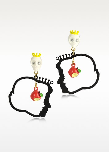 Snow White and the Queen Metal Earrings - N2