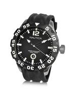 Nautica  BFD 100 -  Black Moving Bezel Date Watch