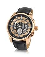 Nautica  NTC 500 - Rose Gold Plated Chronograph Watch