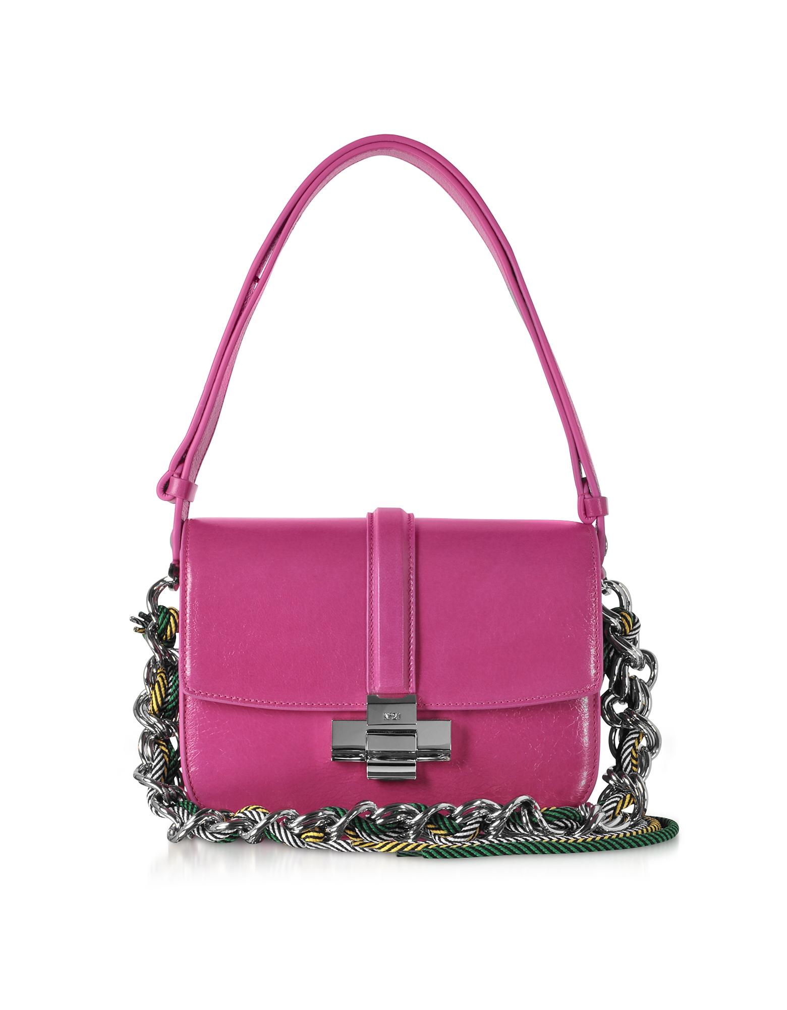 Fuchsia Leather Lolita Bag