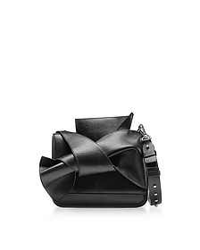 Small Black Leather Bow Shoulder Bag - N°21
