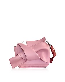 Mini Pink Leather Bow Shoulder Bag - N°21