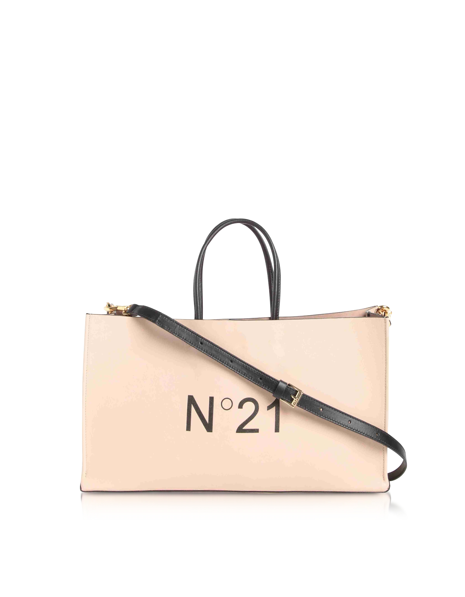 Nude Signature Tote Bag