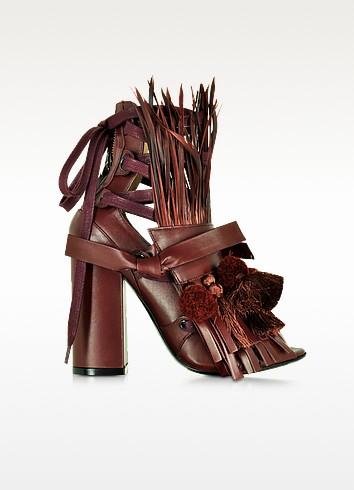 Sandale mit Pom/Pom, Troddeln & Fransen - N°21