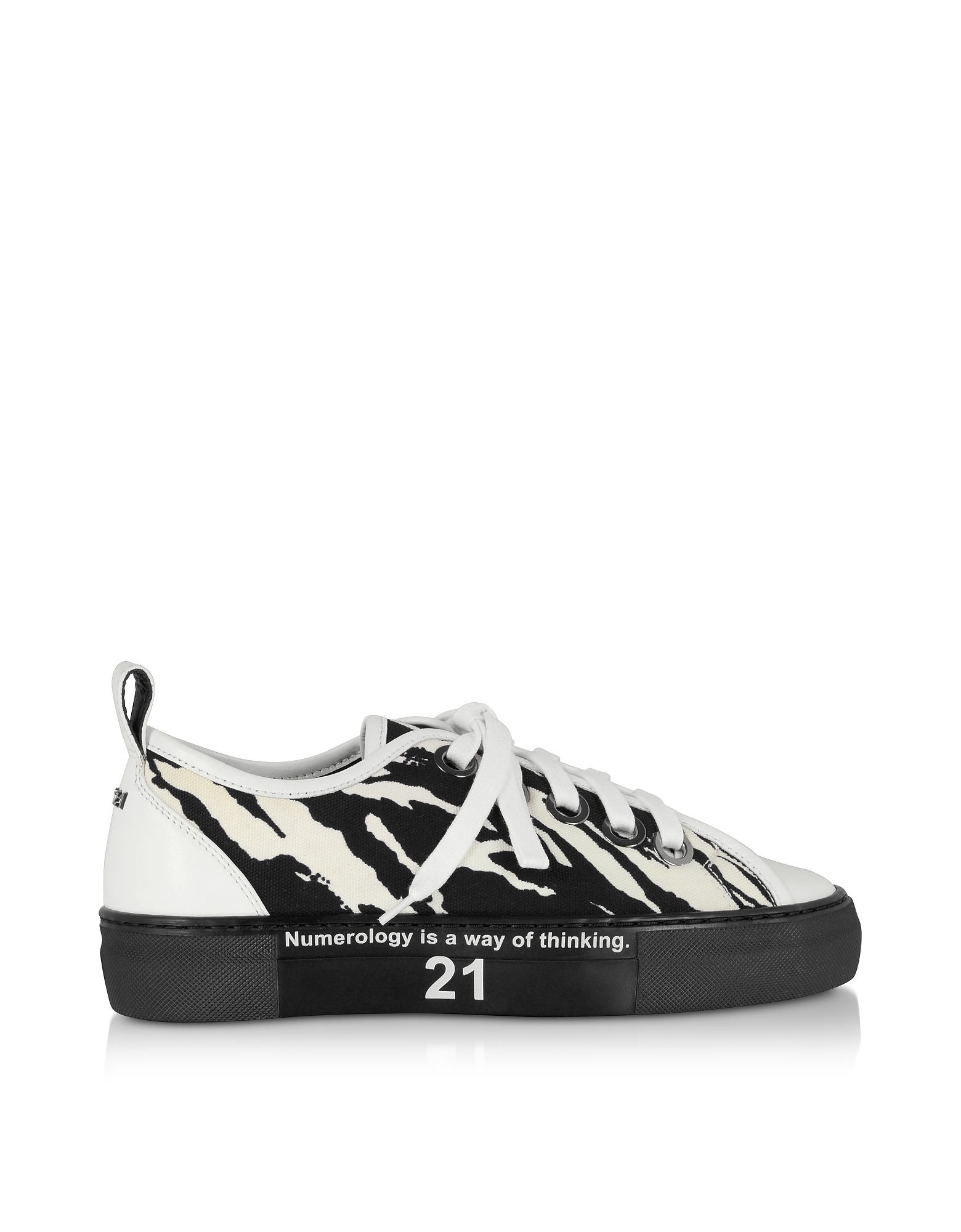 N°21 Designer Shoes, Zebra Gymnic Women