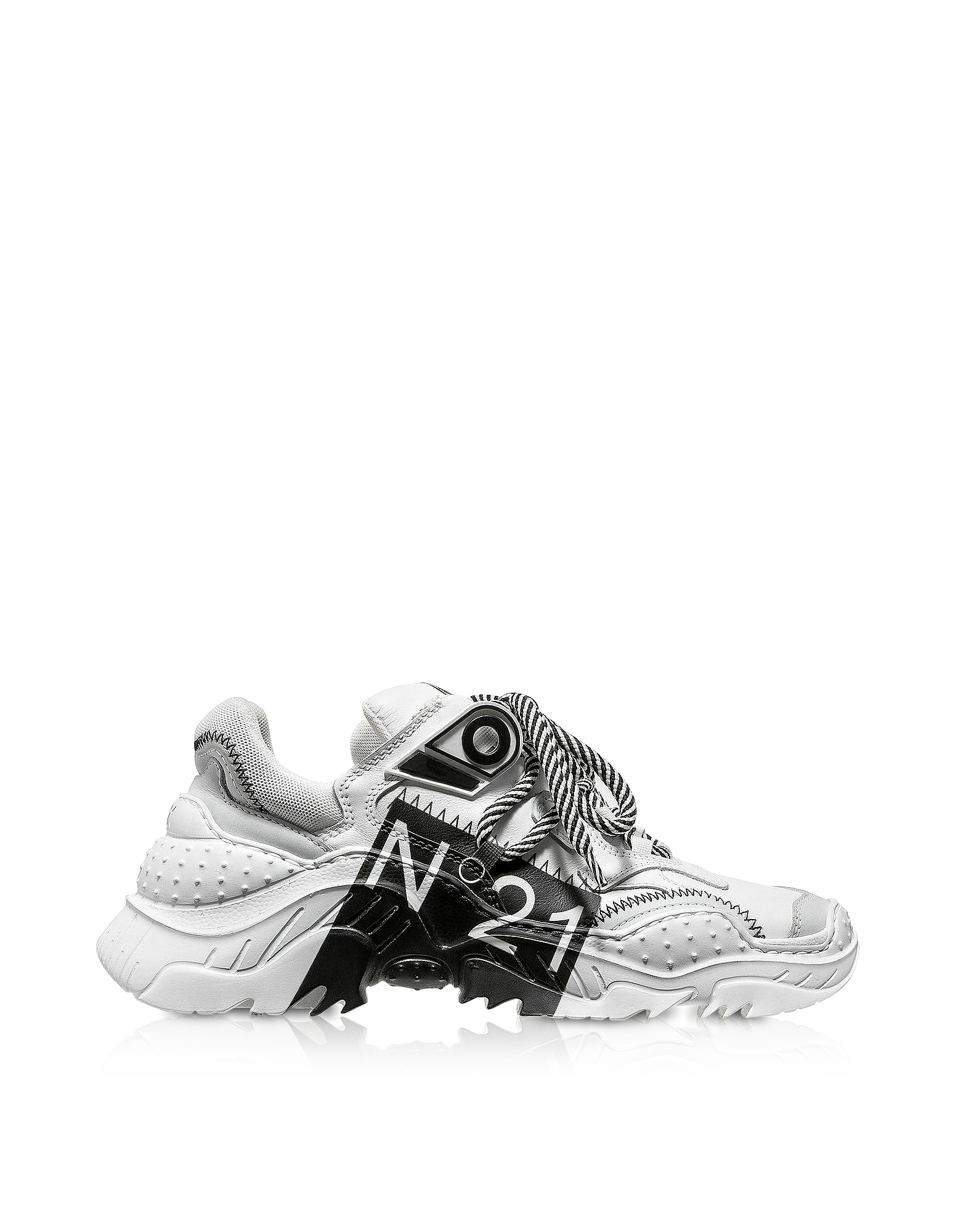 Billy Limited Edition White/Black Women's Sneakers