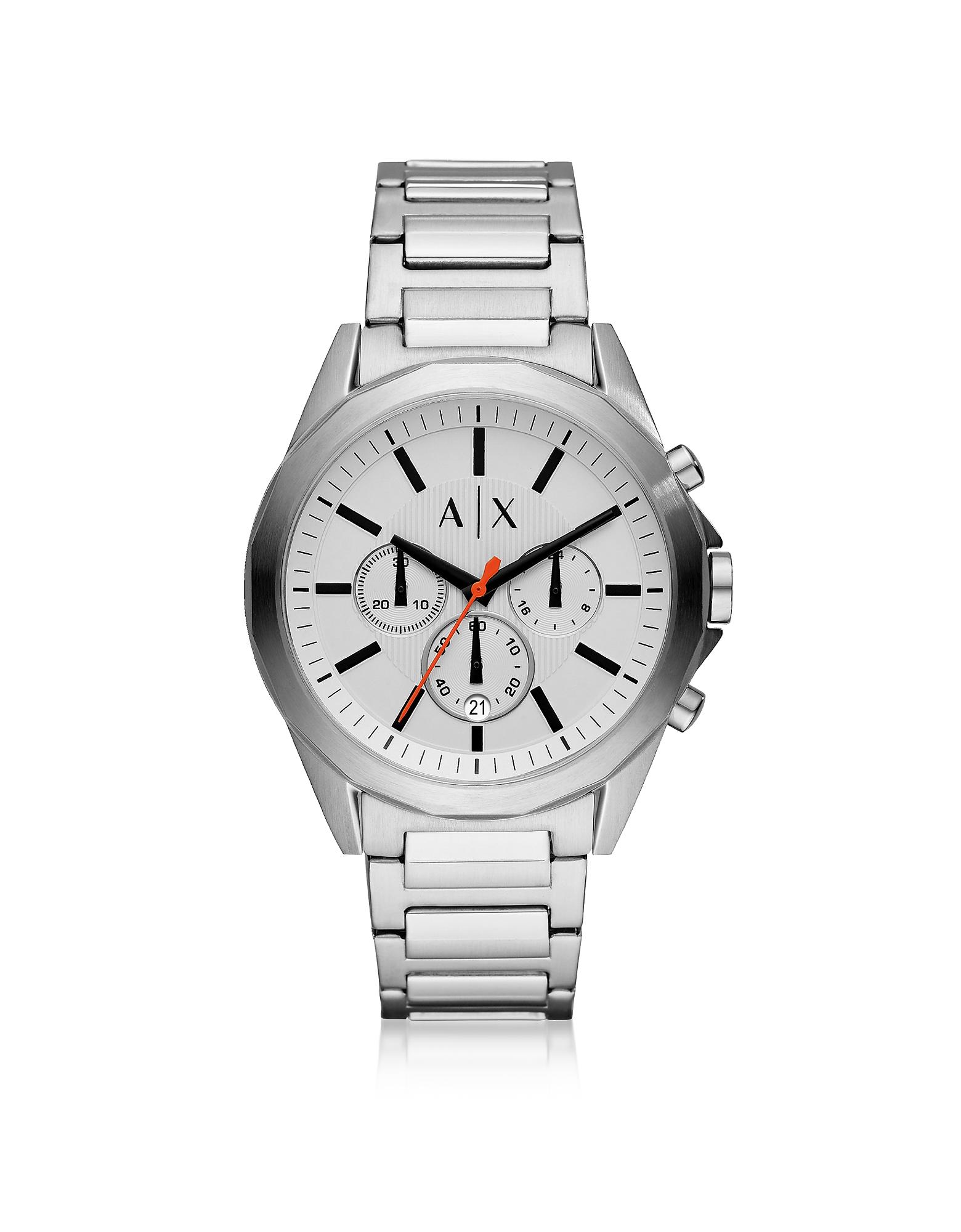 Drexler Stainless Steel Men's Chronograph Watch