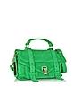PS1 Tiny Aloe Suede Satchel Bag - Proenza Schouler