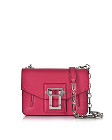 Hava Chain Magenta Leather Crossbody - Proenza Schouler