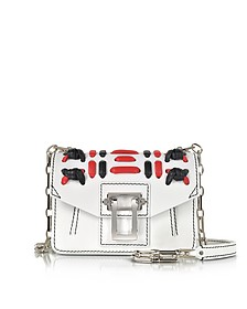 White Soft Leather Hava Chain Crossbody Bag - Proenza Schouler