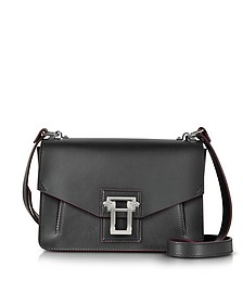 Black Smooth Leather Hava Shoulder Bag - Proenza Schouler